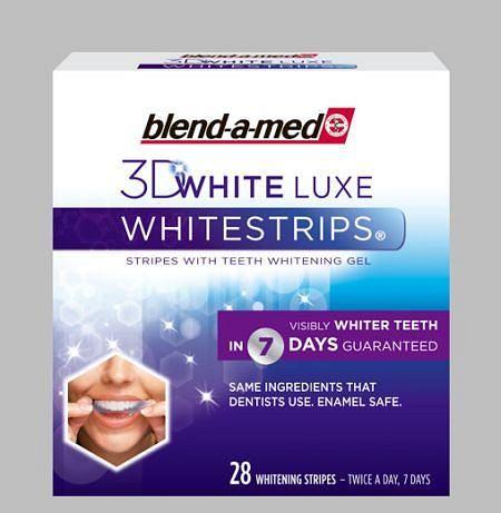 Blend-a-med Whitestrips 3D White Lux